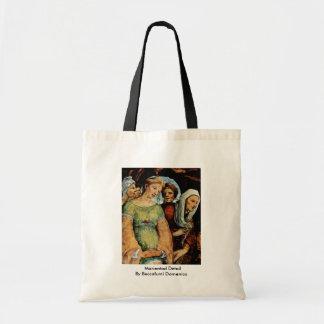 Marientod Detail By Beccafumi Domenico Tote Bags
