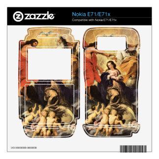 Marie's coronation by Paul Rubens Nokia E71x Decals
