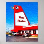 Marietta Landmark - The Big Chicken - 8x6 Archival Print