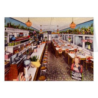 Marietta Ohio Restaurant Interior Greeting Card
