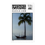 Marigalante: Pirate Ship stamp