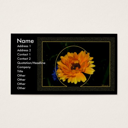 Marigold 1 business card