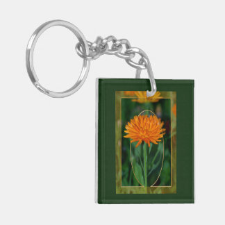 Marigold 2 Double-Sided square acrylic keychain