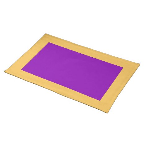 Marigold and Violet Placemat