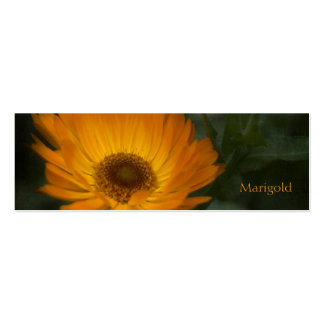 Marigold Bookmark Business Card Template