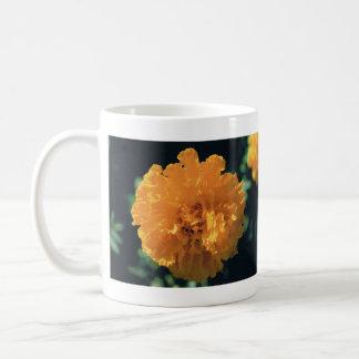 Marigold Classic White Coffee Mug