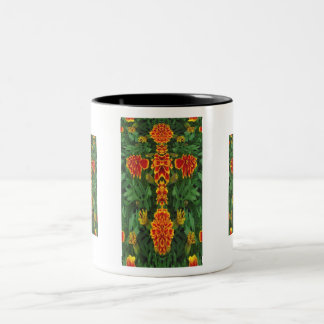 Marigold Cross Mug