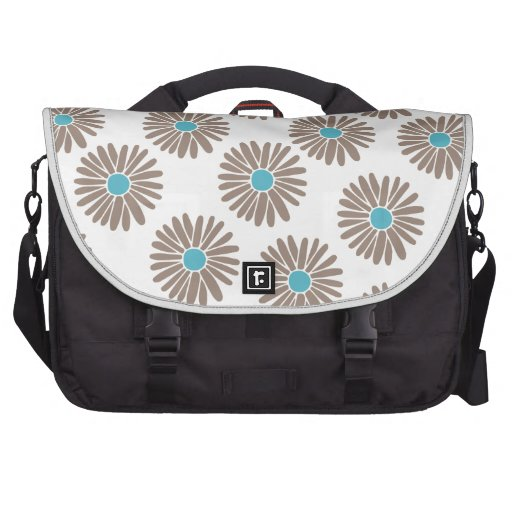 Marigold Floral Pattern Commuter Bag