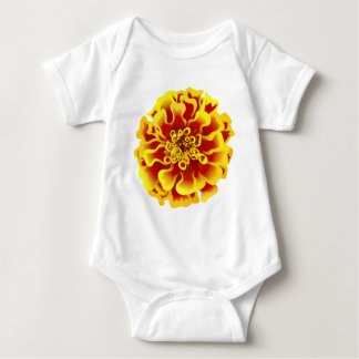 Marigold Flower Baby Bodysuit