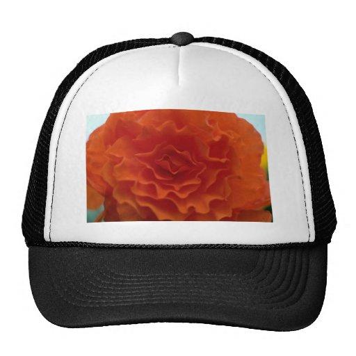 Marigold Flower Trucker Hat