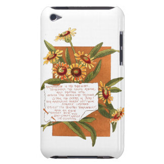 Marigold Flowers Bermuda Island Floral Poem iPod Touch Case-Mate Case
