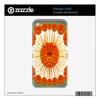 MARIGOLD Flowers - Marry Gold Skin For The iPhone 4