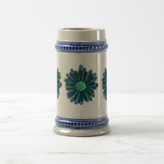 Marigold in Blue Stein Mug