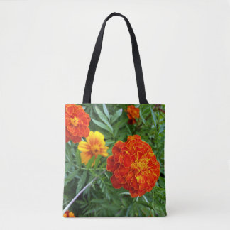 marigold in the sun tote bag