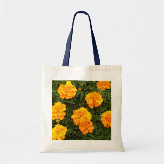 """""""Marigold Madness"""" Budget Tote Canvas Bags"""