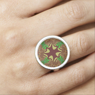 Marigold Meadow Cross Ring