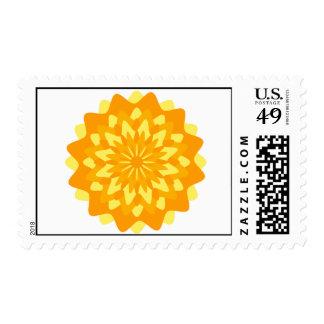 Marigold October Birth Flower Postal Stamp-Cost. Stamps