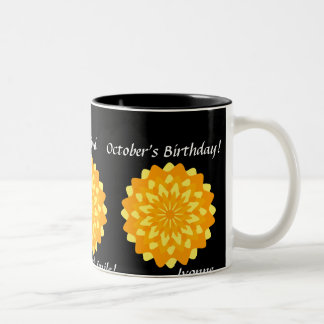 Marigold October's Mug-Customize Two-Tone Coffee Mug