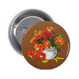 Marigold Pinback Button