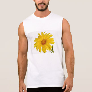 marigold sleeveless shirt