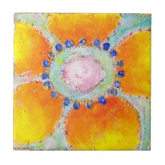 Marigold tile