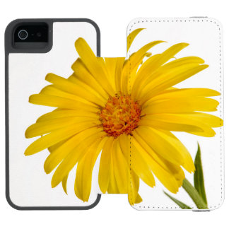 marigold wallet case for iPhone SE/5/5s
