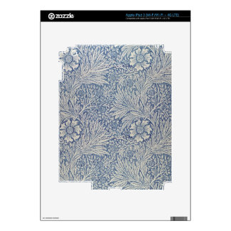'Marigold' wallpaper design, 1875 iPad 3 Decals