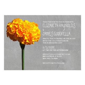 Marigold Wedding Invitations Invite
