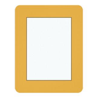 Marigold Yellow in an English Country Garden Card