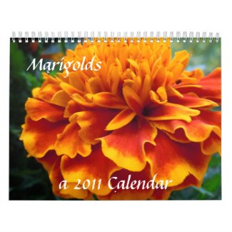 Marigolds 2011 calendar