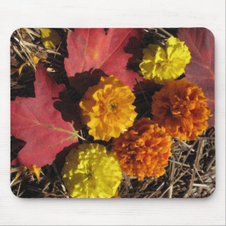 Marigolds and Maples Mouse Pad