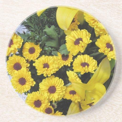 Marigolds Coaster