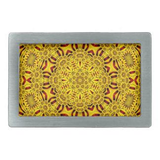 Marigolds Colorful Belt Buckle