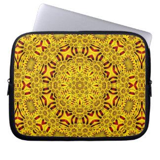 Marigolds Colorful Neoprene Laptop Sleeves