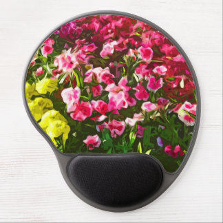 """Marigolds & Dianthus"" Gel Mouse Pad"