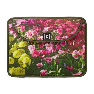 """Marigolds & Dianthus"" Sleeve For MacBooks"