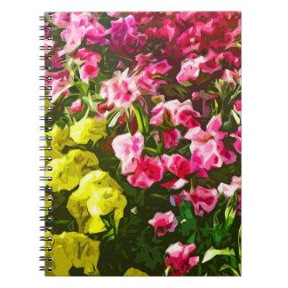 Marigolds & Dianthus Notebook