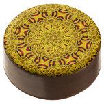 Marigolds Kaleidoscope    Dipped Oreo® Cookies