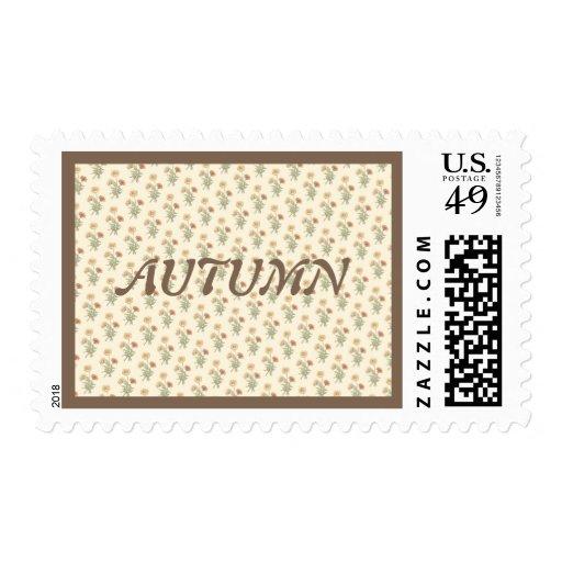 Marigolds Pattern Postage
