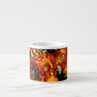Marigolds with a Bee Espresso Mug