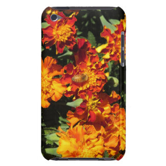 Marigolds with a Bee iPod Case