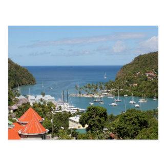 Marigot Bay Saint Lucia Postcard