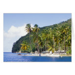 Marigot Bay, St. Lucia, Caribbean Card