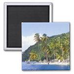 Marigot Bay, St. Lucia, Caribbean Fridge Magnet