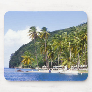 Marigot Bay, St. Lucia, Caribbean Mouse Pad
