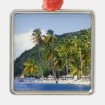 Marigot Bay, St. Lucia, Caribbean Ornament