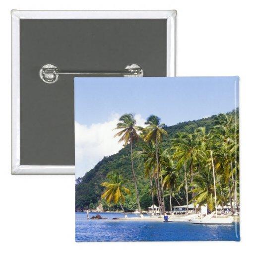 Marigot Bay, St. Lucia, Caribbean Pin