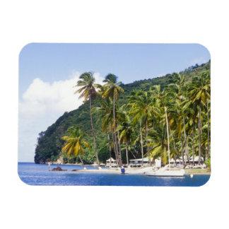 Marigot Bay, St. Lucia, Caribbean Rectangular Photo Magnet