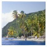 Marigot Bay, St. Lucia, Caribbean Tile