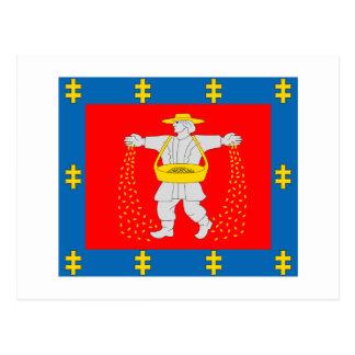 Marijampole County Flag Postcards